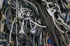 Ηλεκτρικό καλώδιο για ανακύκλωσης Στοκ Φωτογραφία