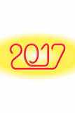 Ηλεκτρικό καλώδιο ευτυχές 2017_JAK-3 Στοκ Φωτογραφίες