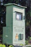 Ηλεκτρικό κιβώτιο ελέγχου για τις υπαίθριες εγκαταστάσεις Στοκ φωτογραφία με δικαίωμα ελεύθερης χρήσης