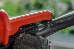 ηλεκτρικό μαχαίρι Στοκ εικόνα με δικαίωμα ελεύθερης χρήσης