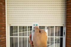 Ηλεκτρικό παραθυρόφυλλο κυλίνδρων Στοκ Εικόνες