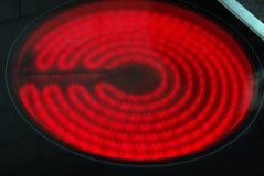 Ηλεκτρικό πιάτο στοιχείων θέρμανσης Στοκ εικόνα με δικαίωμα ελεύθερης χρήσης