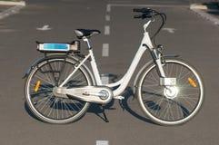 Ηλεκτρικό ποδήλατο Στοκ εικόνα με δικαίωμα ελεύθερης χρήσης