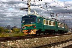Ηλεκτρικό τραίνο Στοκ Εικόνες