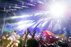 Ηλεκτρικό φεστιβάλ του Castle, Ρουμανία Στοκ φωτογραφία με δικαίωμα ελεύθερης χρήσης