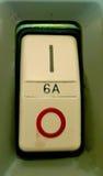 Ηλεκτρικό φως ανάφλεξης κουμπιών Στοκ Εικόνες