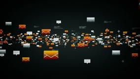 Ηλεκτρονικά ταχυδρομεία και μηνύματα κειμένου BSilver ελεύθερη απεικόνιση δικαιώματος