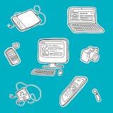 Ηλεκτρονικές συσκευές απεικόνιση αποθεμάτων