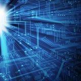 Ηλεκτρονική τεχνολογία - XL απεικόνιση αποθεμάτων