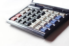 ηλεκτρονικό απομονωμένο απεικόνιση διανυσματικό λευκό υπολογιστών ανασκόπησης Ψηφιακή φωτογραφία υψηλής ανάλυσης ενός υπολογιστή Στοκ φωτογραφία με δικαίωμα ελεύθερης χρήσης