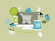 Ηλεκτρονικό εμπόριο Στοκ εικόνες με δικαίωμα ελεύθερης χρήσης
