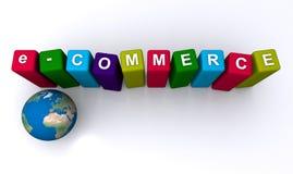 Ηλεκτρονικό εμπόριο διανυσματική απεικόνιση