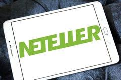 Ηλεκτρονικό λογότυπο τραπεζών Neteller Στοκ Φωτογραφίες