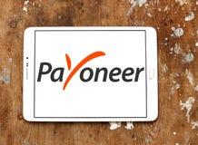 Ηλεκτρονικό λογότυπο τραπεζών Payoneer Στοκ εικόνα με δικαίωμα ελεύθερης χρήσης