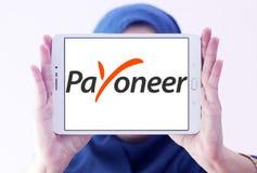 Ηλεκτρονικό λογότυπο τραπεζών Payoneer Στοκ φωτογραφίες με δικαίωμα ελεύθερης χρήσης