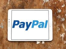 Ηλεκτρονικό λογότυπο τραπεζών Paypal Στοκ φωτογραφία με δικαίωμα ελεύθερης χρήσης