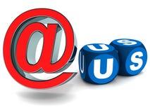 Ηλεκτρονικό ταχυδρομείο εμείς ελεύθερη απεικόνιση δικαιώματος