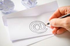 Ηλεκτρονικό ταχυδρομείο Στοκ φωτογραφίες με δικαίωμα ελεύθερης χρήσης