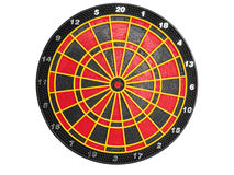 Ηλεκτρονικό dartboard για τα μαλακά βέλη ακρών Στοκ φωτογραφία με δικαίωμα ελεύθερης χρήσης