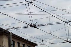 Ηλεκτροφόρο καλώδιο Στοκ Εικόνα