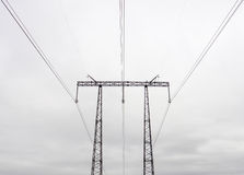 Ηλεκτροφόρο καλώδιο Στοκ Φωτογραφίες