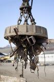 Ηλεκτρο μαγνήτης παλιοσίδερου Στοκ Φωτογραφία