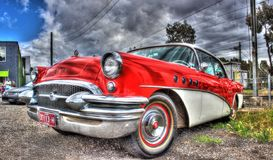 Η εκλεκτής ποιότητας αμερικανική δεκαετία του '50 Buick Στοκ εικόνα με δικαίωμα ελεύθερης χρήσης
