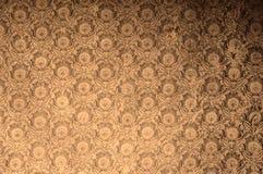 Η εκλεκτής ποιότητας αντίκα ξεπέρασε τη floral ταπετσαρία στο αναδρομικό φίλτρο επίδρασης polaroid Στοκ Φωτογραφίες