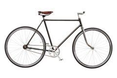 Η εκλεκτής ποιότητας συνήθεια το ποδήλατο που απομονώθηκε στο άσπρο υπόβαθρο στοκ φωτογραφίες με δικαίωμα ελεύθερης χρήσης