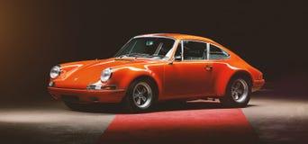 Η εκλεκτής ποιότητας Porsche 911 αυτοκίνητο Στοκ φωτογραφίες με δικαίωμα ελεύθερης χρήσης