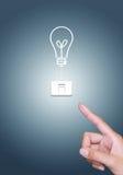 η ενέργεια έννοιας σώζει Στοκ εικόνα με δικαίωμα ελεύθερης χρήσης