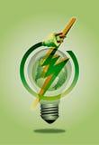 η ενέργεια σώζει Στοκ εικόνες με δικαίωμα ελεύθερης χρήσης