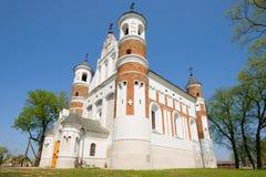 Η ενισχυμένη εκκλησία του Nativity της Virgin Mary Murovanka, Λευκορωσία στοκ φωτογραφία με δικαίωμα ελεύθερης χρήσης