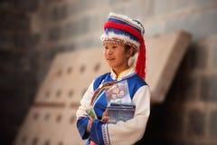 Η εντύπωση Lijiang είναι παραδοσιακός χορός στην Κίνα. στοκ φωτογραφία με δικαίωμα ελεύθερης χρήσης