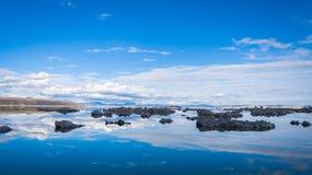 η εξαιρετική λίμνη Καλιφόρνιας του 2008 μονο τοποθετεί τη δύση Στοκ Εικόνες