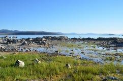 η εξαιρετική λίμνη Καλιφόρνιας του 2008 μονο τοποθετεί τη δύση Στοκ Εικόνα