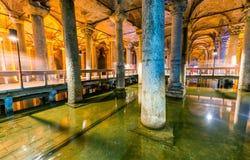 Η δεξαμενή βασιλικών (βυθισμένο παλάτι, ή βυθισμένη δεξαμενή), είναι Στοκ Εικόνες
