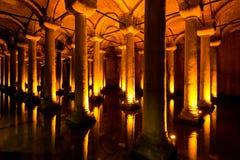 Η δεξαμενή βασιλικών στη Ιστανμπούλ, Τουρκία Στοκ Φωτογραφία