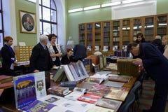 140η επέτειος της ακαδημίας τέχνης και βιομηχανίας της Αγία Πετρούπολης Στοκ Εικόνα