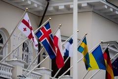 100η επέτειος της αποκατάστασης της λιθουανικής κατάστασης πολιτείας Στοκ εικόνες με δικαίωμα ελεύθερης χρήσης