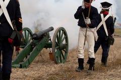 200η επέτειος της Λειψίας της μάχης των εθνών Στοκ εικόνες με δικαίωμα ελεύθερης χρήσης