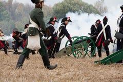 200η επέτειος της Λειψίας της μάχης των εθνών στοκ φωτογραφία με δικαίωμα ελεύθερης χρήσης