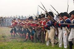 200η επέτειος της Λειψίας της μάχης των εθνών στοκ εικόνες