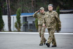 25η επέτειος της υπηρεσίας ασφάλειας της Ουκρανίας Στοκ Εικόνες