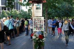 14η επέτειος του 9/11 98 Στοκ εικόνες με δικαίωμα ελεύθερης χρήσης
