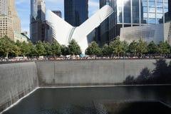 15η επέτειος 9/11 1 Στοκ Φωτογραφία
