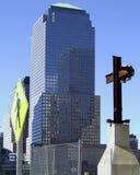 η επίγεια Νέα Υόρκη μηδέν Στοκ φωτογραφία με δικαίωμα ελεύθερης χρήσης