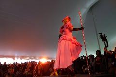 Η επίδειξη μόδας 12 Cosplay φεστιβάλ Sakura Matsuri του 2014 Στοκ Εικόνα