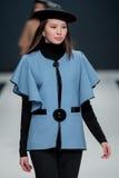 Η επίδειξη μόδας Pierre Cardin στην εβδομάδα μόδας της Μόσχας Με αγάπη για τη Ρωσία στις 22 Μαρτίου 2016 Στοκ Φωτογραφία