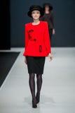 Η επίδειξη μόδας Pierre Cardin στην εβδομάδα μόδας της Μόσχας Με αγάπη για τη Ρωσία στις 22 Μαρτίου 2016 Στοκ εικόνα με δικαίωμα ελεύθερης χρήσης